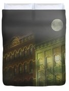 Northampton By Moonlight Duvet Cover