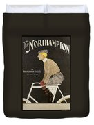 Northampton Cycle 1899 Duvet Cover
