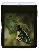 Northern Butterfly Duvet Cover