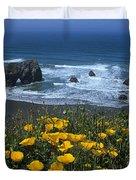 Northern California Coast Duvet Cover
