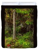Northern Forest 1 Duvet Cover