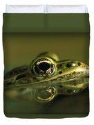 Northern Leopard Frog Duvet Cover