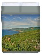 Northern Road Through Cape Breton Highlands Np-ns Duvet Cover