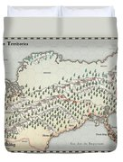 Northern Territories Duvet Cover