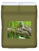 Northern Water Snake - Nerodia Sipedon Duvet Cover