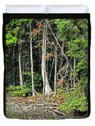 Northern Woods Duvet Cover