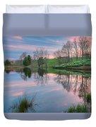 Northfield Daffodils Sunset Duvet Cover
