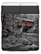 Northfield Falls Bridge Duvet Cover