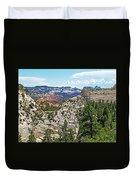 Northgate Peaks Trail From Kolob Terrace Road In Zion National Park-utah Duvet Cover