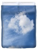 Northward Blowing Duvet Cover