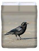 Northwestern Crow Duvet Cover