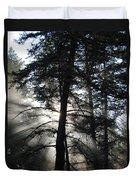 Northwoods Morning Duvet Cover