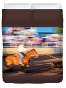 Norwood Colorado - Cowboys Ride Duvet Cover