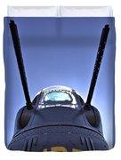Nose Turret Of The B-24 J Duvet Cover