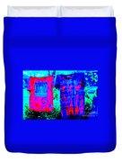 Not Fade Away - Tie Dye Duvet Cover