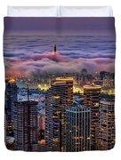 Not Hong Kong Duvet Cover