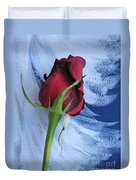 Not Just Another Rose Photograph Art Duvet Cover