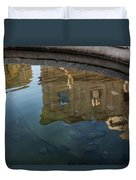 Noto's Sicilian Baroque Architecture Reflected Duvet Cover