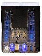 Notre-dame Basilica Of Montreal Duvet Cover