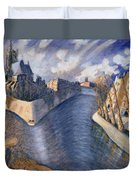 Notre Dame Cathedral Duvet Cover