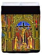 Notre Dame Color Duvet Cover