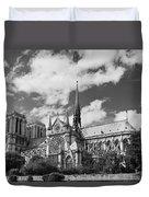 Notre Dame De Paris Duvet Cover