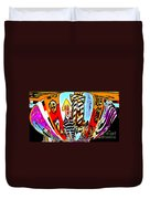 Notre Debut Abstract Duvet Cover