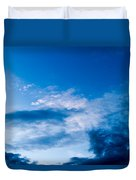 November Clouds 002 Duvet Cover