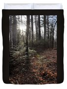 November In The Pines Duvet Cover