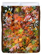 November's Maples Duvet Cover