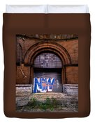 Now Graffiti Duvet Cover