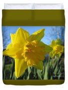 Now That's A Daffodil Duvet Cover