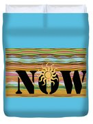 Now Wavy Duvet Cover