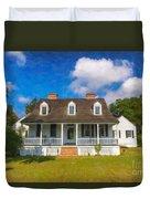 Nps Historic Site Duvet Cover