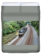 Ns 9629 Lead Intermodal Duvet Cover