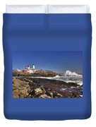 Nubble Light  Duvet Cover