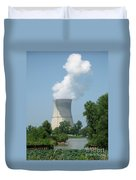 Nuclear Energy And Environment Duvet Cover