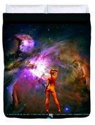 Nude Amongst The Stars 3... Duvet Cover