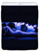 Nude Light Painting 2 Duvet Cover