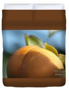 Nude Persimmon Duvet Cover