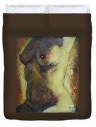 Nude Female Torso Duvet Cover