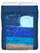 Nuestra Luna Duvet Cover