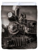 Number 4 Narrow Gauge Railroad Duvet Cover