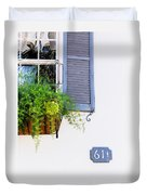 Number 61 And A Quarter - Charleston S C - Travel Photographer David Perry Lawrence Duvet Cover