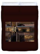 Number 61 Duvet Cover