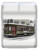 Number 965 Trolley Duvet Cover