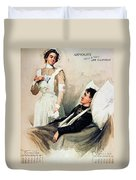 Nurse: Calendar, 1899 Duvet Cover