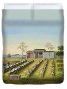 Nursery Garden, C.1820-40 Duvet Cover