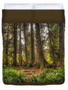 Nursery Log Duvet Cover