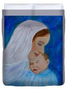 Nurturing Love Of A Mother  Duvet Cover by The Art With A Heart By Charlotte Phillips